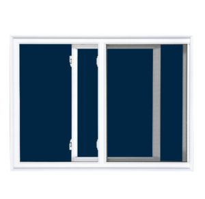 Single sliding window